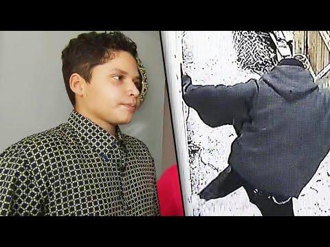 Lance Houston - 17-Year-Old Describes the Moment He Heard Burglar Break Into His Home