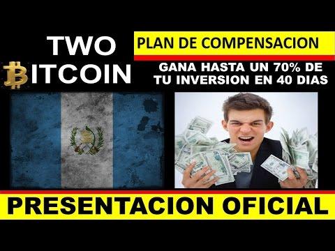 TWO BITCOIN GUATEMALA - Gana Hasta El 70% De Tu Inversión En 40 Días! BITCOIN - FOREX