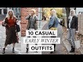 CASUAL EARLY WINTER OUTFIT IDEAS | Fashion + Style | Liv Judd