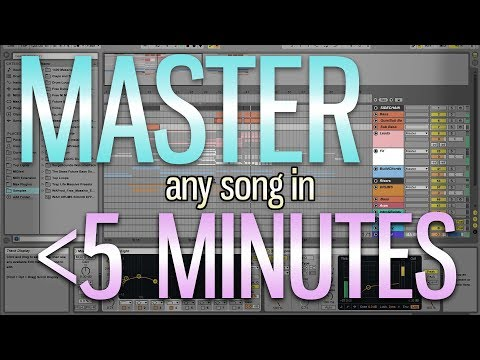 MASTER ANY SONG IN 5 MINUTES // Music Production Tutorial