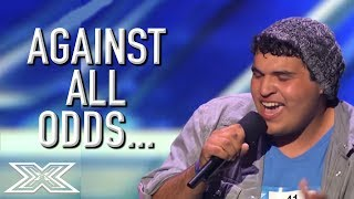 carlos guevara inspires the crowd on x factor usa x factor global
