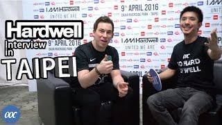 Hardwell Interview in Taipei w/ OOC