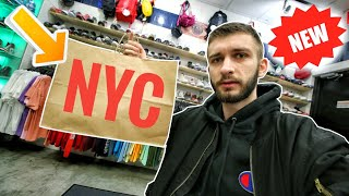 I HAD TO BUY IT! ANOTHER HYPED PICKUP in NEW YORK CITY SNEAKER SHOPPING!