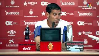 Rueda de prensa de Fernando Hierro tras el RCD Mallorca vs Real Oviedo (0-0)
