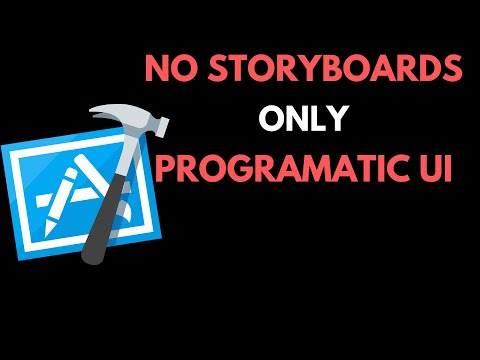 How to develop iOS App Programmatically | No Storyboards | Swift 4 | Xcode 10 thumbnail