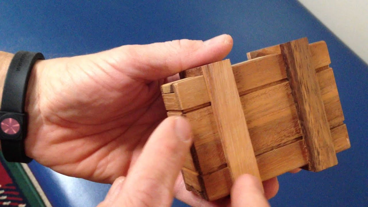 Solution For Magic Money Box From Dilemma Games Aka Chinese Money Box Magic Puzzle Box