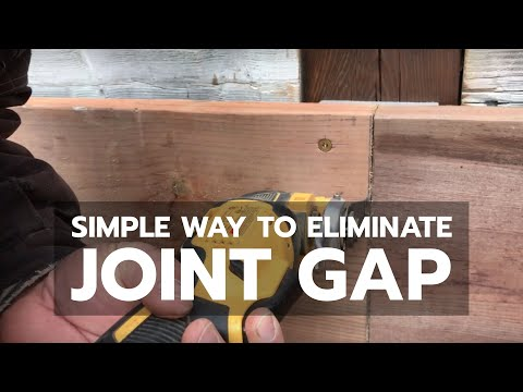 WOODWORKING TRICK: Simple Way to Eliminate Joint Gap