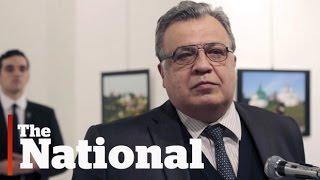 Russian ambassador assassinated in Turkey
