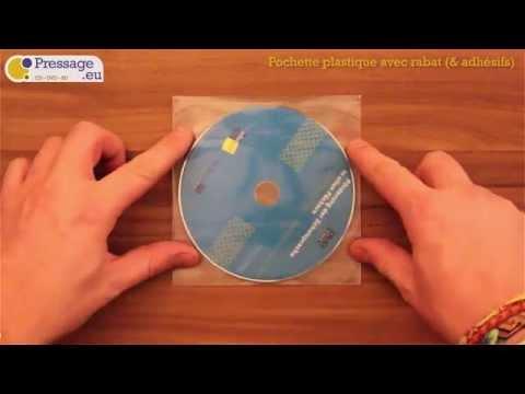 PRESSAGE.EU - Conditionnement : Pochette plastique avec rabat (& adhésifs)