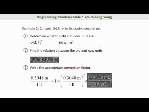 [2015] Engineering Fundamentals 04: Conversion of units [with closed caption]