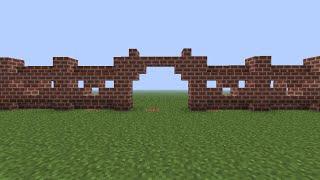 Как построить красивый забор в Minecraft (2)
