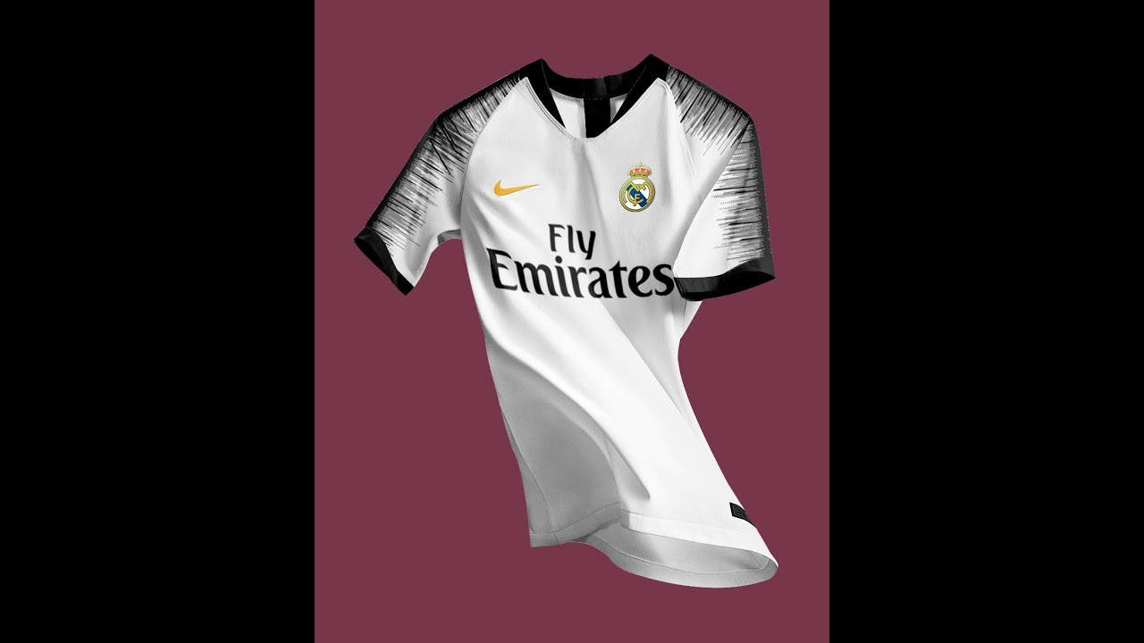 new product 9bb81 ed23b Nike concept kit for real madrid for 2018/19 season