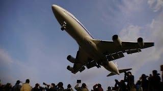 [永久保存版] 伊丹空港熱き1日の記録!!! B747ジャンボ1日限りの里帰り Boeing 747 千里川 thumbnail