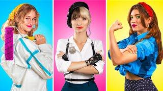 Si las Chicas Actuaran como los Chicos en el Trabajo / 14 Situaciones Graciosas