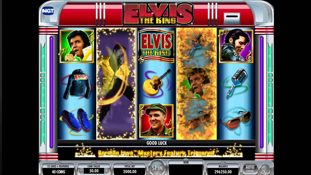 Elvis Slot Game