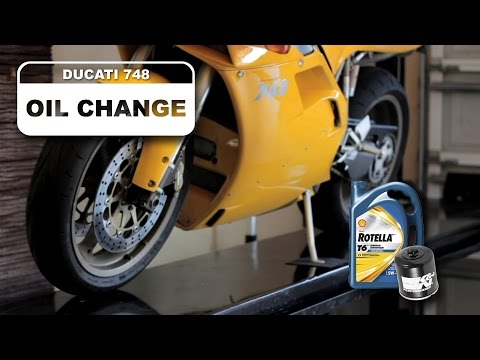 Ducati Oil Change How To For 748 Superbike 996 998 916