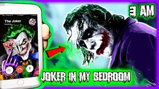 DO NOT CALL THE JOKER ON FACETIME AT 3AM!! EVIL JOKER TRIES TO PURGE ME! *OMG HE CAME TO MY HOUSE*