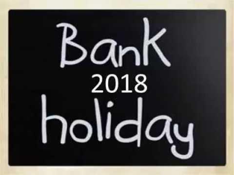 BANK HOLIDAY LIST 2018 II Westbengal II INDIA