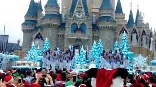 """""""Let it go""""-FROZEN Celebration Magic Kingdom 2014"""