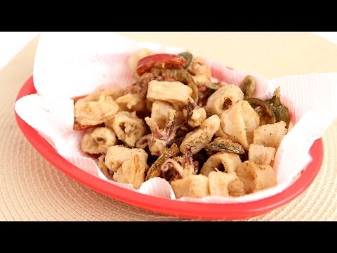 Old Bay Calamari Recipe - Laura Vitale - Laura in the Kitchen Episode 785