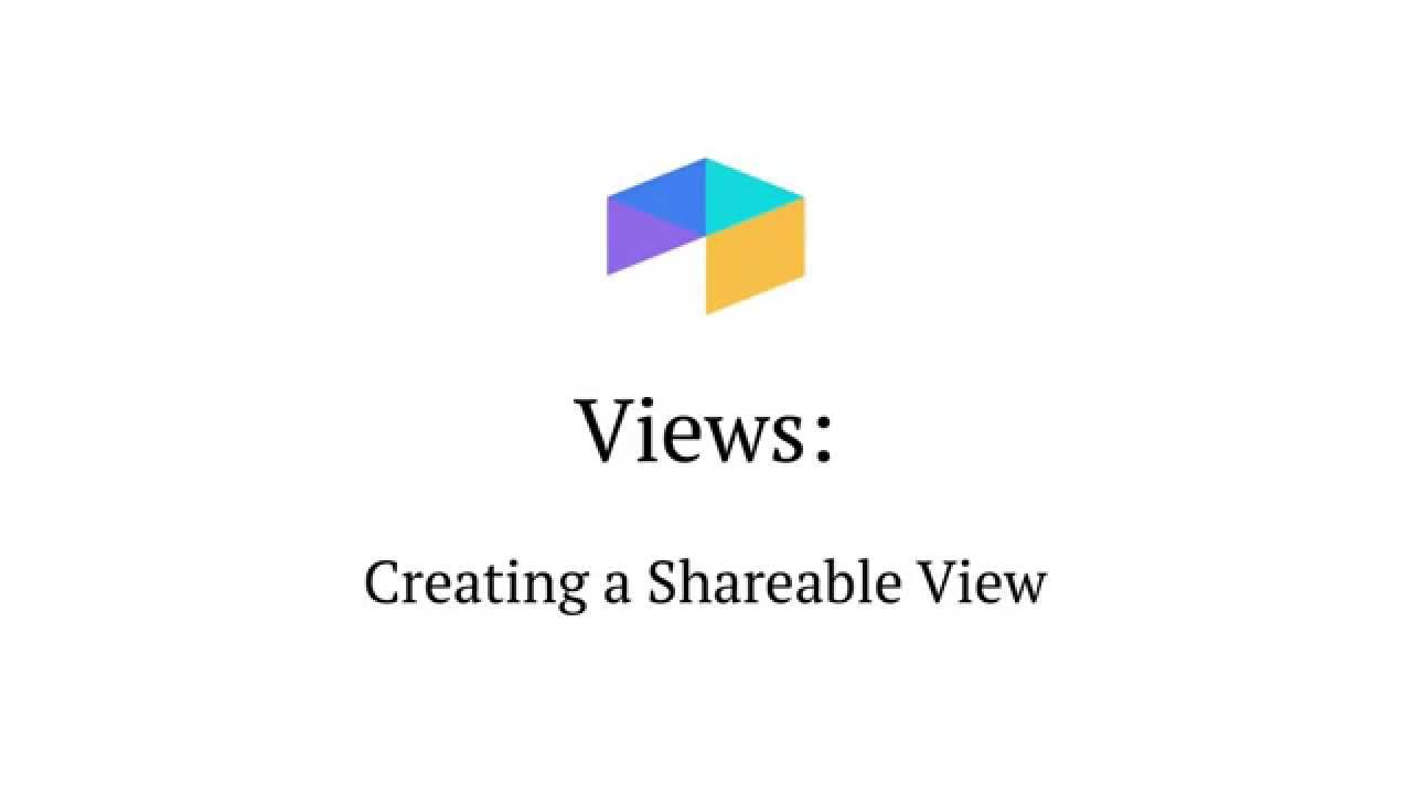 Sharing a view in Airtable