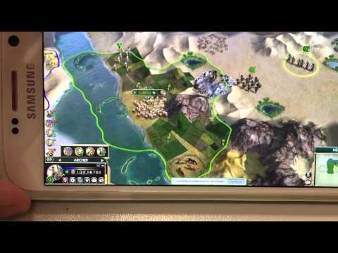 Civilization V On Android With Chrome Remote Desktop