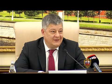 Олег Баранов представил новых руководителей подразделений столичной полиции