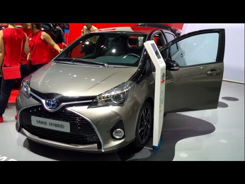 Toyota Yaris Hybrid 2016 In Detail Review Walkaround Interior Exterior You