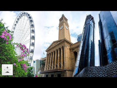 Brisbane Australia City Tour | Filmed in [6K] - Panasonic S1H