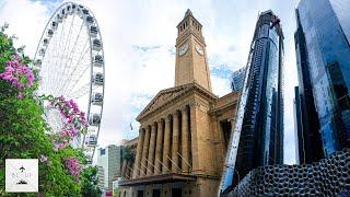 Brisbane Australia City Tour | Filmed In [6k]   Panasonic S1h