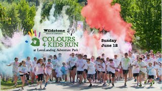 Wildstone Colours4Kids Run at LocoLanding