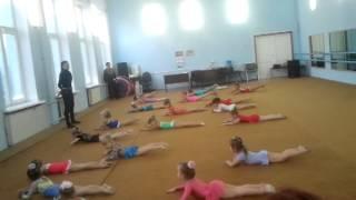 Открытый урок по художественной гимнастике. 21.12.2012г.(, 2012-12-21T17:07:41.000Z)