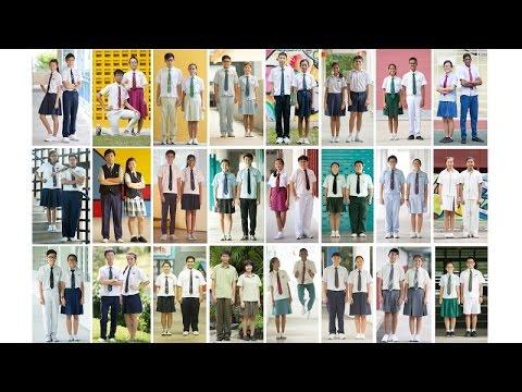 A last look at 24 S'pore school uniforms?