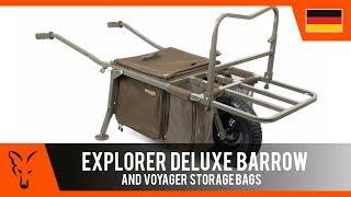***Karpfenangeln TV*** Explorer Deluxe Barrow + Large Cooler/Cooler/Storage Bag