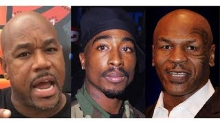 Mike Tyson LAYS HANDS On Wack 100 For Talking GREASY About Tupac Shakur During Live Podcast!!