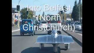 Solar drive to christchurch