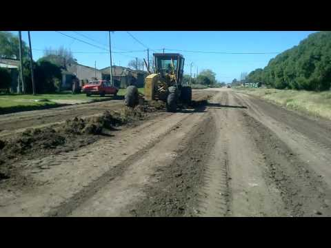 Quequén: Reparación y limpieza de calles