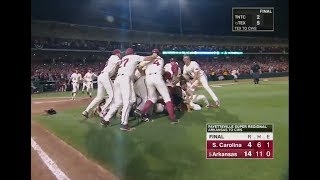 #5 Arkansas vs. South Carolina (2018 Super Regional Game 3)
