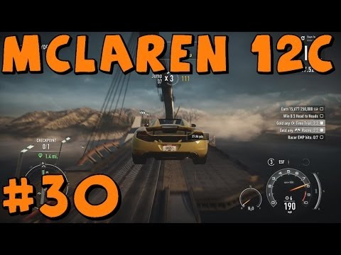 Need For Speed Rivals | Xbox One | Part 30  | McLaren MP4-12c Spider