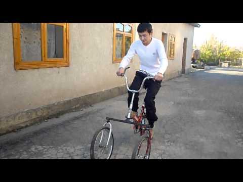 видео: трехколесный велосипед