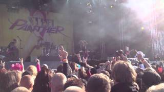 Steel Panther - Supersonic Sex Machine live @ Sweden Rock Festival 2012 06 07
