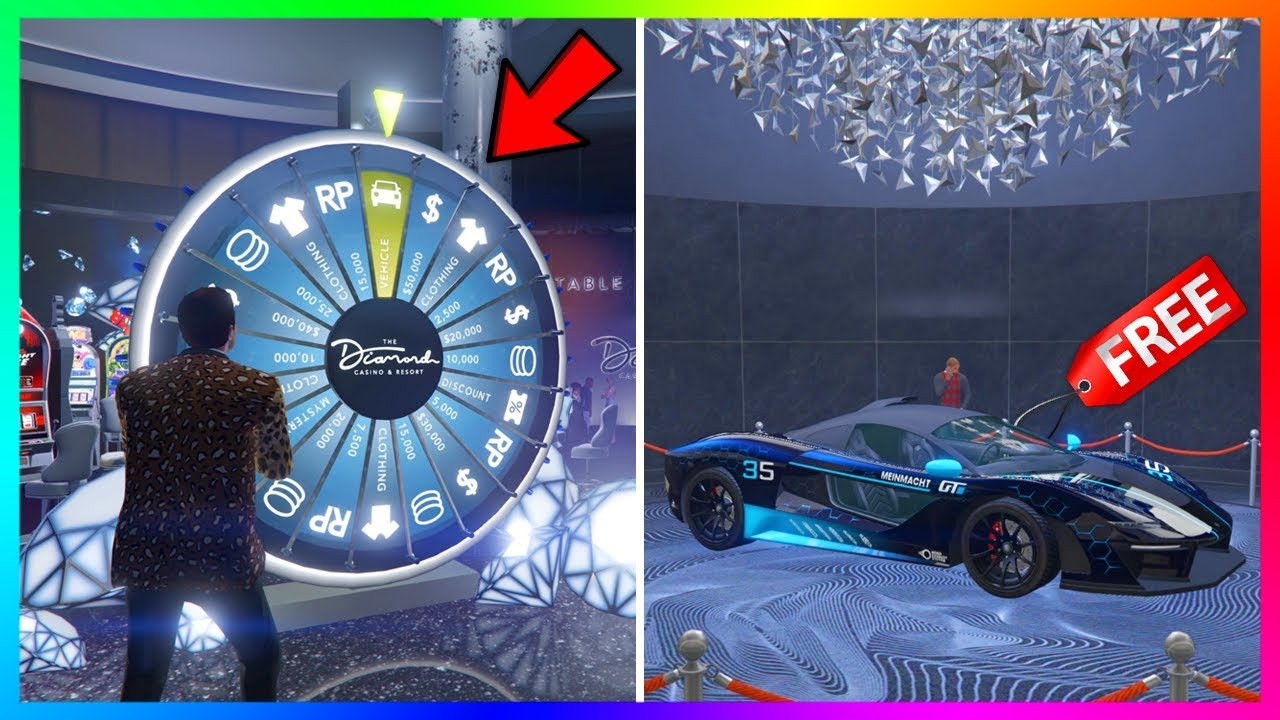 How To Win The Lucky Wheel Podium Car Every Single Time In Gta 5 Online Updated 2020 Youtube