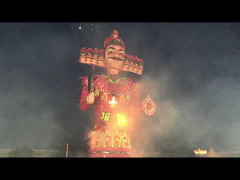 Ravan Dahan at Nagpur 2019(Longest burning Ravan)