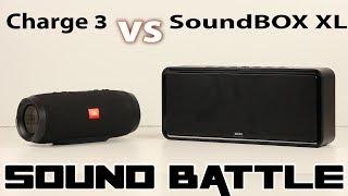 SoundBox XL VS Charge 3 :SoundBattle