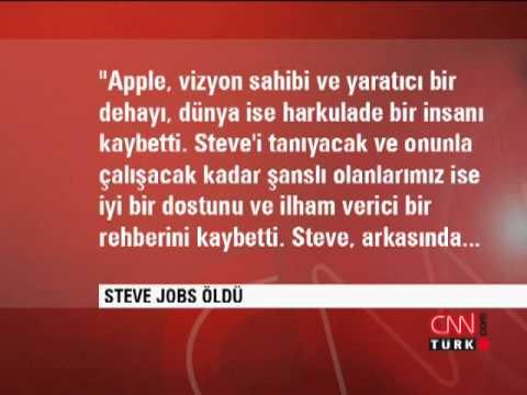 Steve Jobs hayatını kaybetti