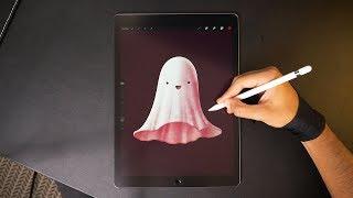 Ghost 👻 iPad Pro Drawing