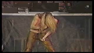 Skid Row - Monkey Business (Live at Wembley 1991)