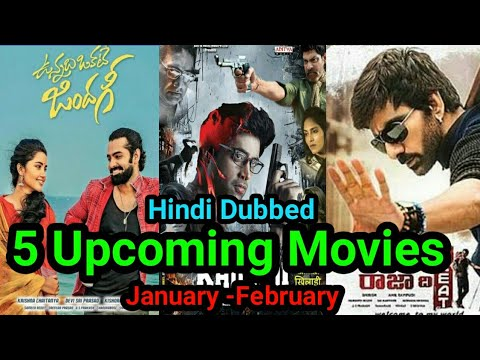 5 Upcoming New South Hindi Dubbed Movies Tv & Youtube With Confirm Release Date.