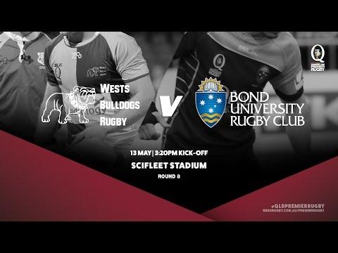 Queensland Premier Rugby R8: Wests v Bond University
