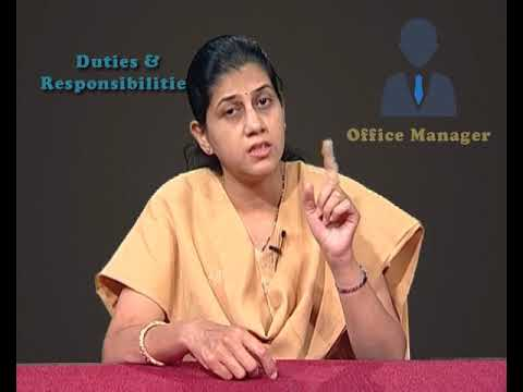 Duties and Responsibilities of Office Manager